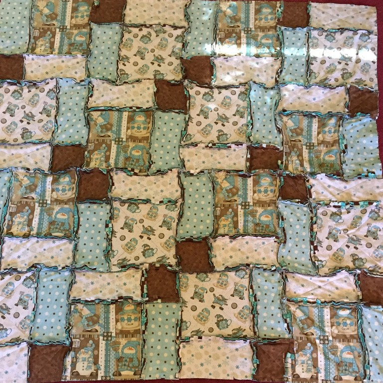 How to Make a Rag Quilt