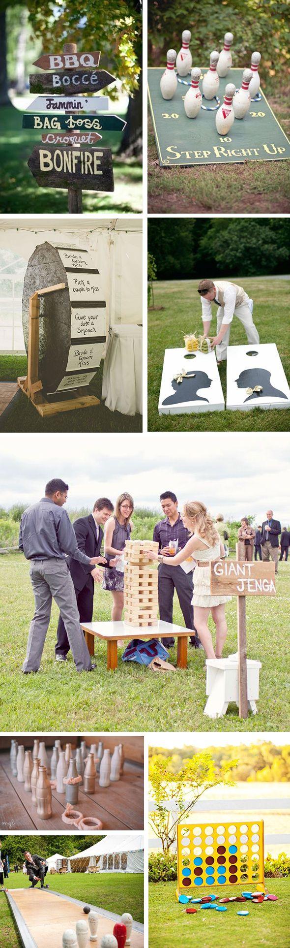 Reception Idea: Wedding Games!