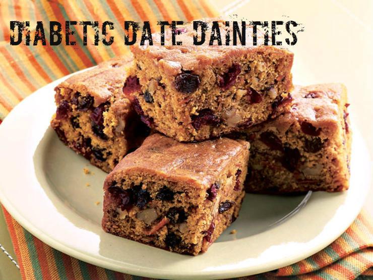 DIABETIC DATE DAINTIES