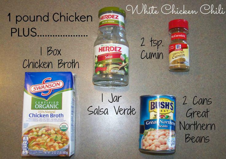 21 Day Fix Clean Eating 5-Ingredient White Chicken Chili