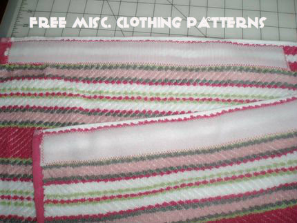Free Misc. Clothing Patterns