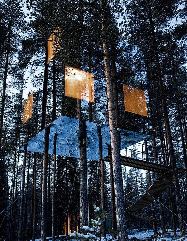 Unbelievable tree-houses!