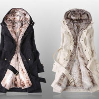 2011 winter clothes padded winter jacket liner thick