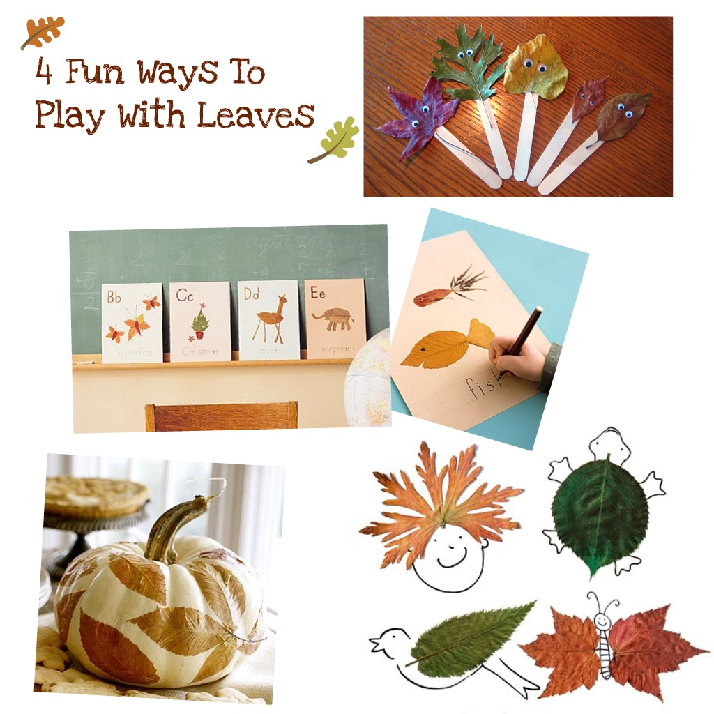 Fall leaf projects for kids
