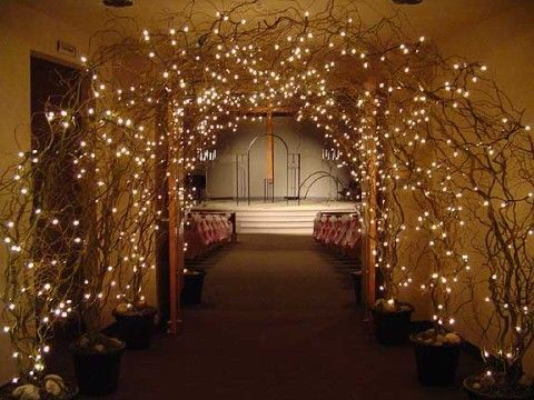 beautiful entrance for reception! loooove this! So fairy tale!