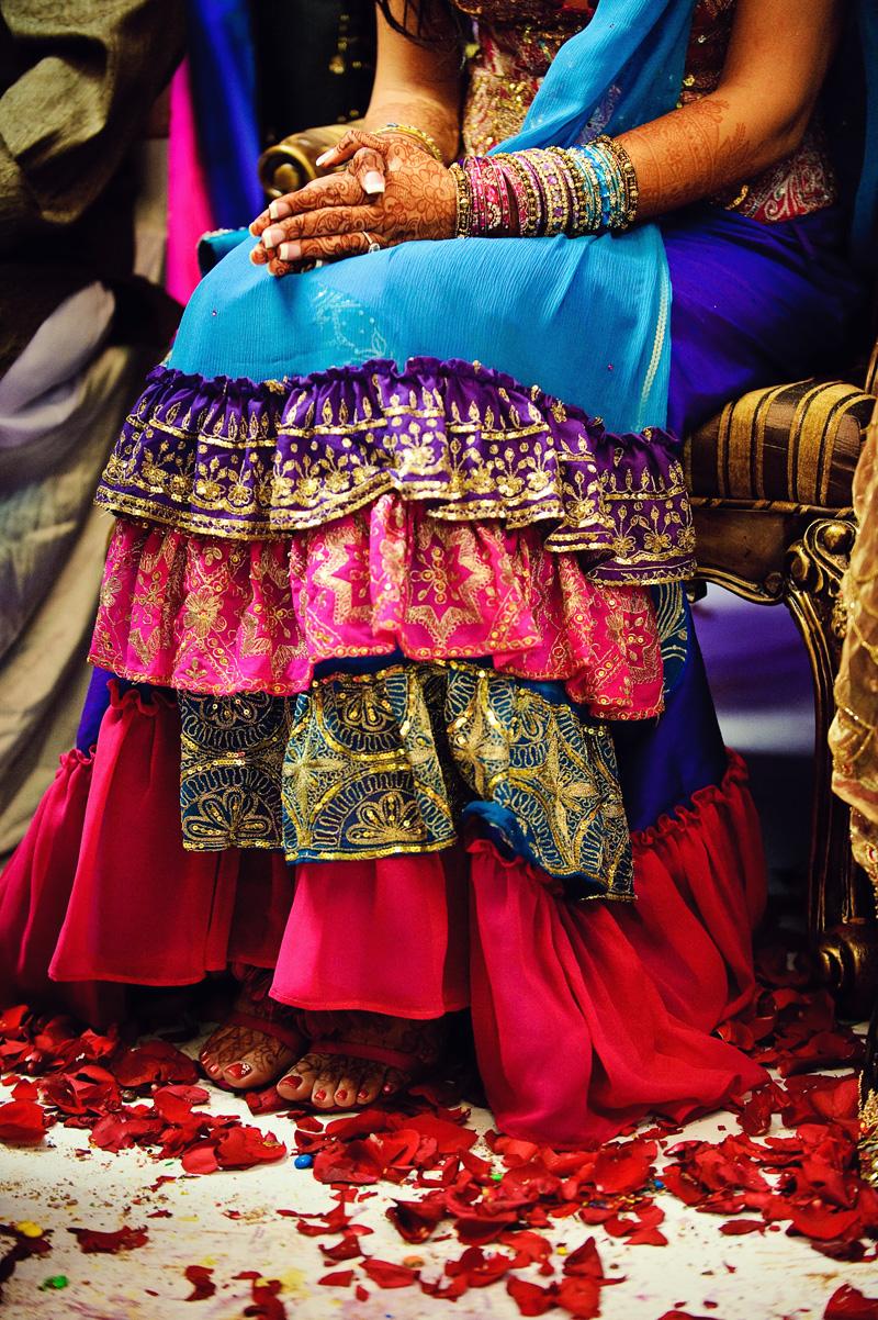 indian wedding — color!