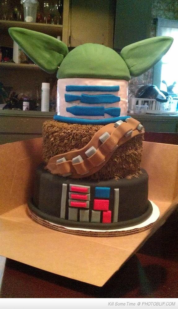 Star Wars Cake!