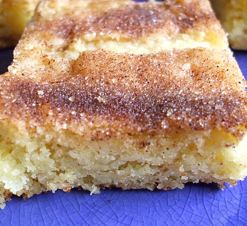 Snickerdoodle brownies – I have made these three times this week for parties, th