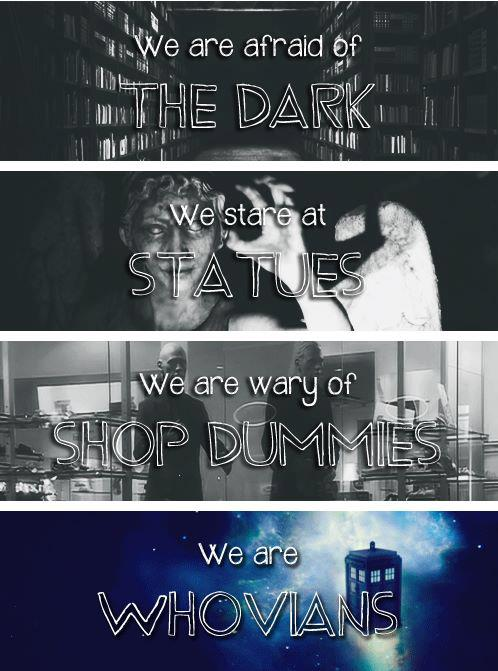 We are Whovians. #DoctorWho
