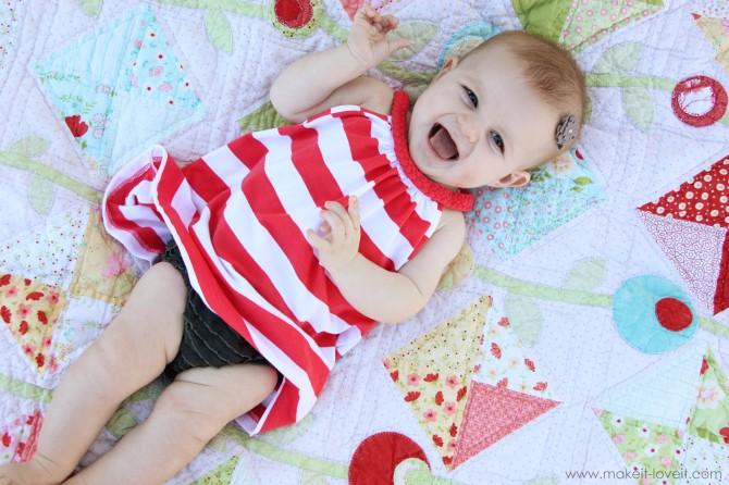 diy baby girl dress