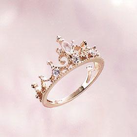 princess crown ring..