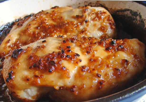 THIS IS FREAKING AMAZING! Just 4 ingredients – chicken, garlic, brown sugar and