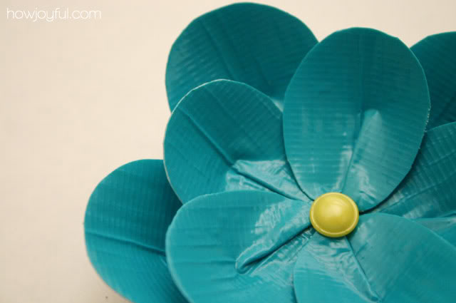 DIY Duck tape flowers