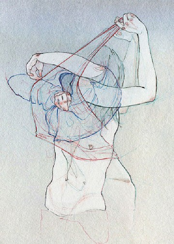 I love Adara Sanchez Anguiano's line and ability to convey movement...