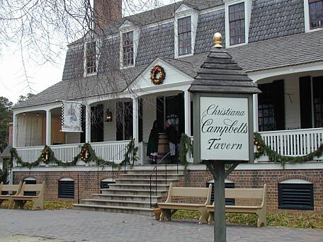 Tavern Williamsburg VA