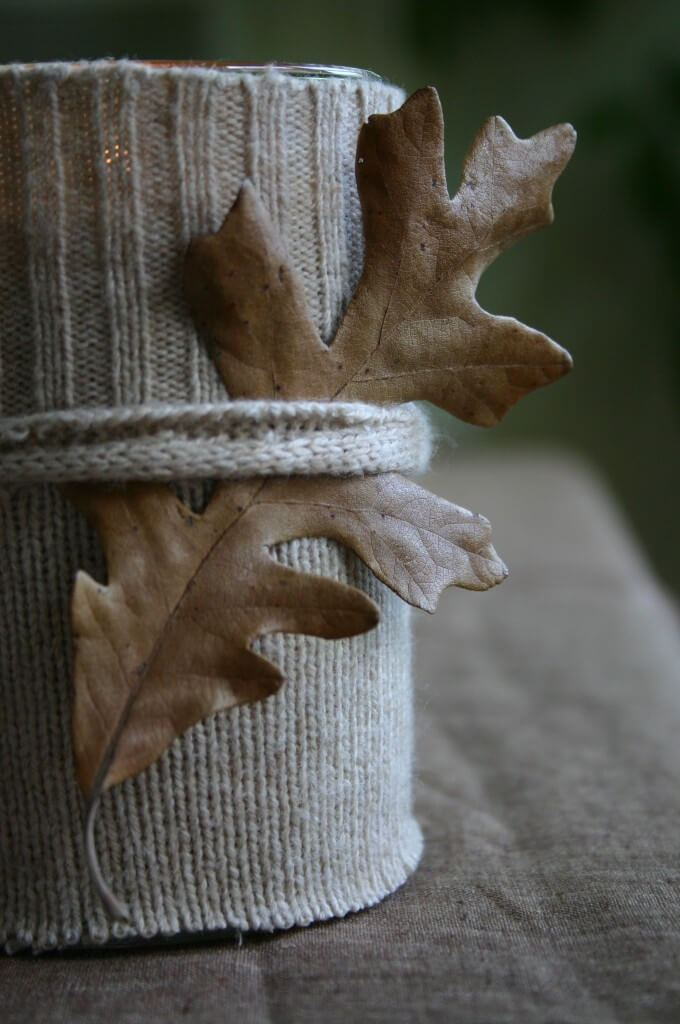 A better sweater -   HOME DECORATIONS WITH FALL LEAVES