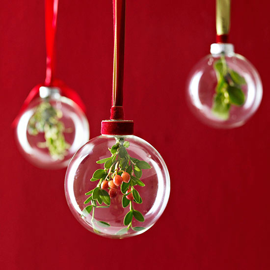 Holiday Greenery Ornament -   Easy Christmas Ornaments