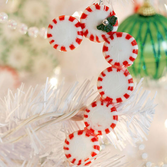 Candy Cane Ornament -   Easy Christmas Ornaments