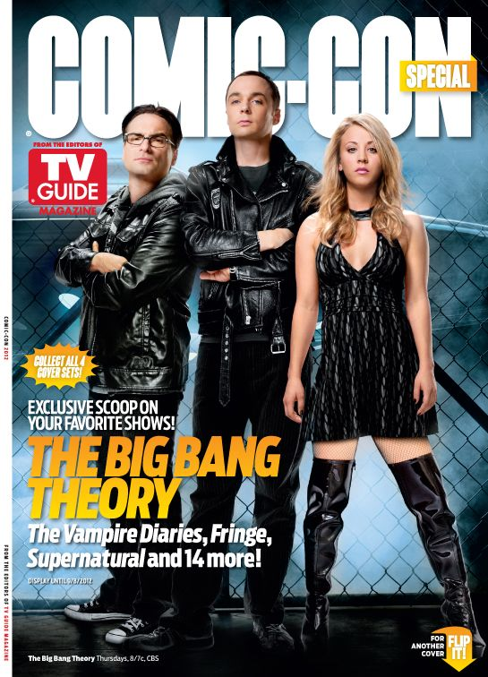 THE BIG BANG THEORY TV Guide – Comic-Con issue