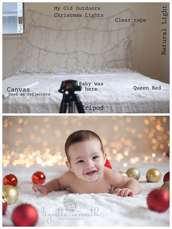 Thanksgreat idea for baby christmas photo shoot for christmas cards or just port