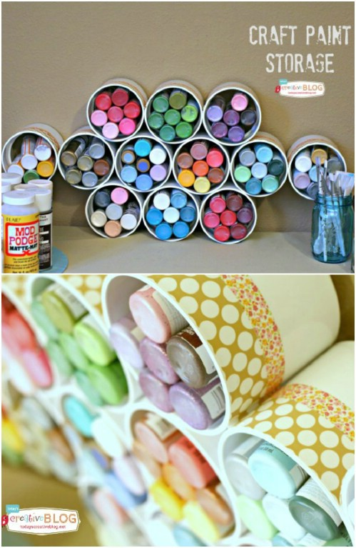 Craft Room Storage -   How use pvc pipe for home and garden