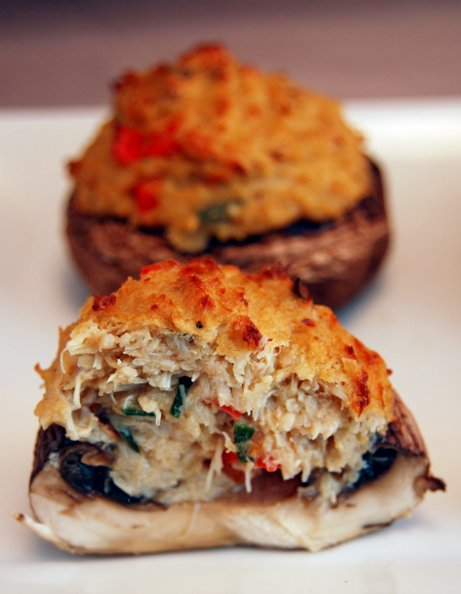 Crab Stuffed Mushroms