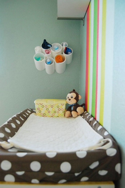 Nursery Storage -   How use pvc pipe for home and garden