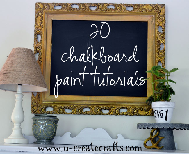 While i re boot we know how to do it for Chalkboard paint ideas