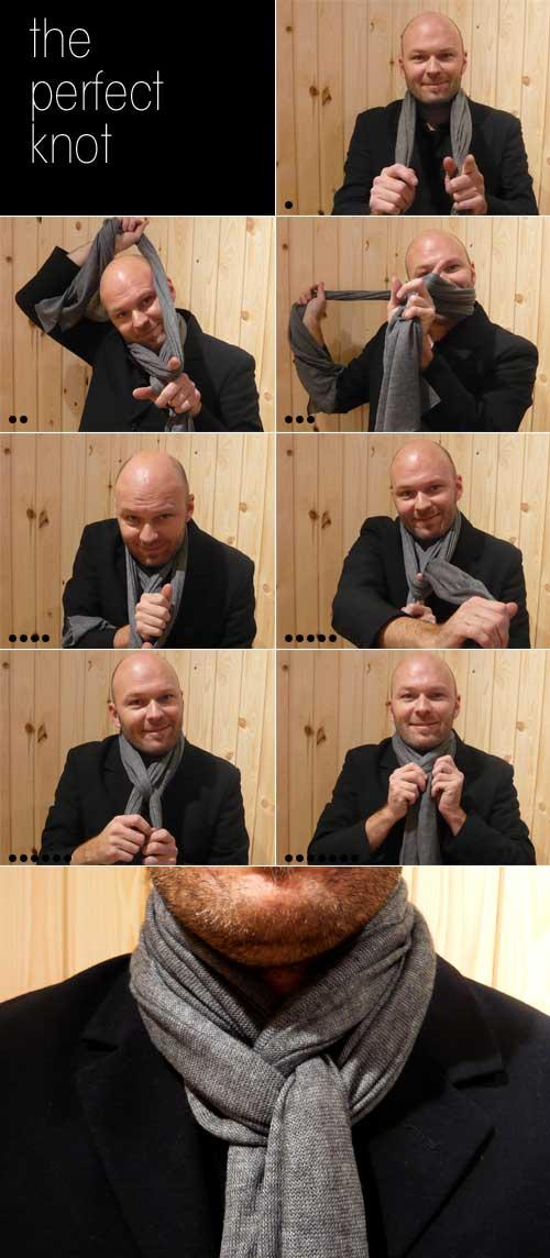 Scarf Knot Ideas