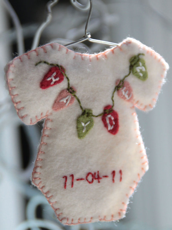 Baby S First Christmas Ornament 2012