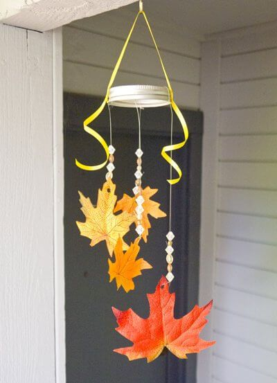 Fall Leaf Mobile -   HOME DECORATIONS WITH FALL LEAVES