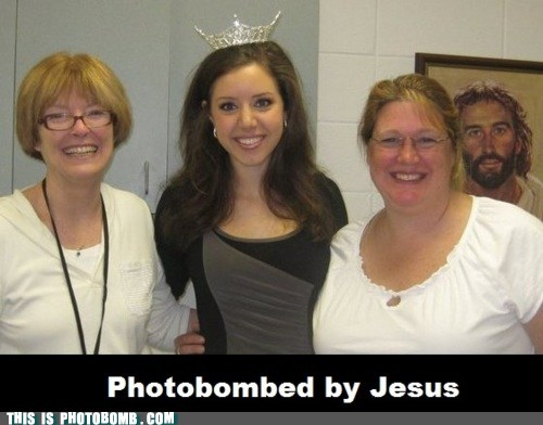Well played, Jesus. Well played.
