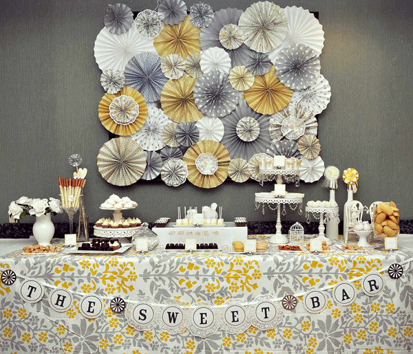 yellow and gray party