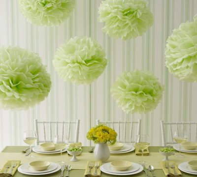Green wedding decoration we know how to do it green wedding decoration junglespirit Gallery
