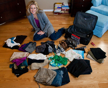 how to pack efficiently for a 10 day trip
