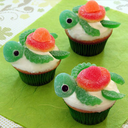 turtle cupcakes… too cute! :)