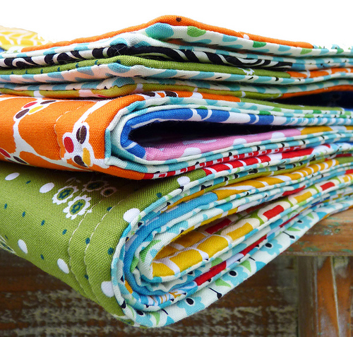 Easy quilt tutorial no binding. How to sew together 3 layers of fabric for blank