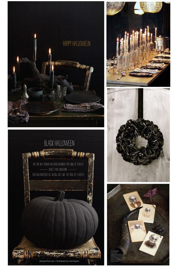 Halloween Party theme: Black