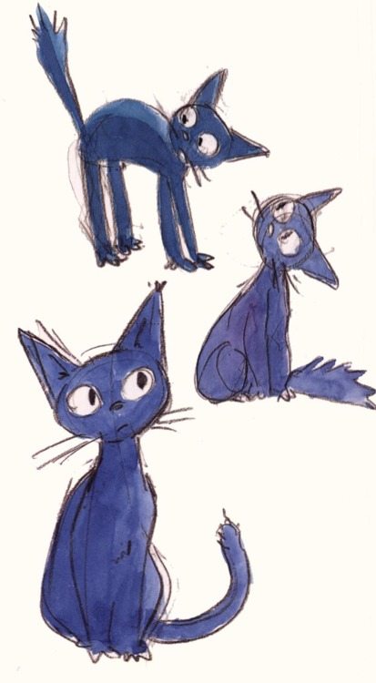sketches from KiKis delivery service…