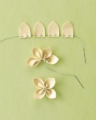 pretty flower craft