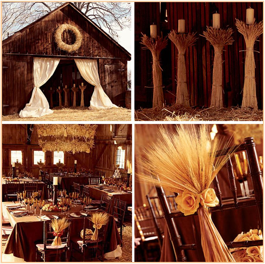 wheat, barn, wedding