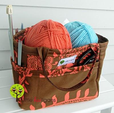 Knitting bag…