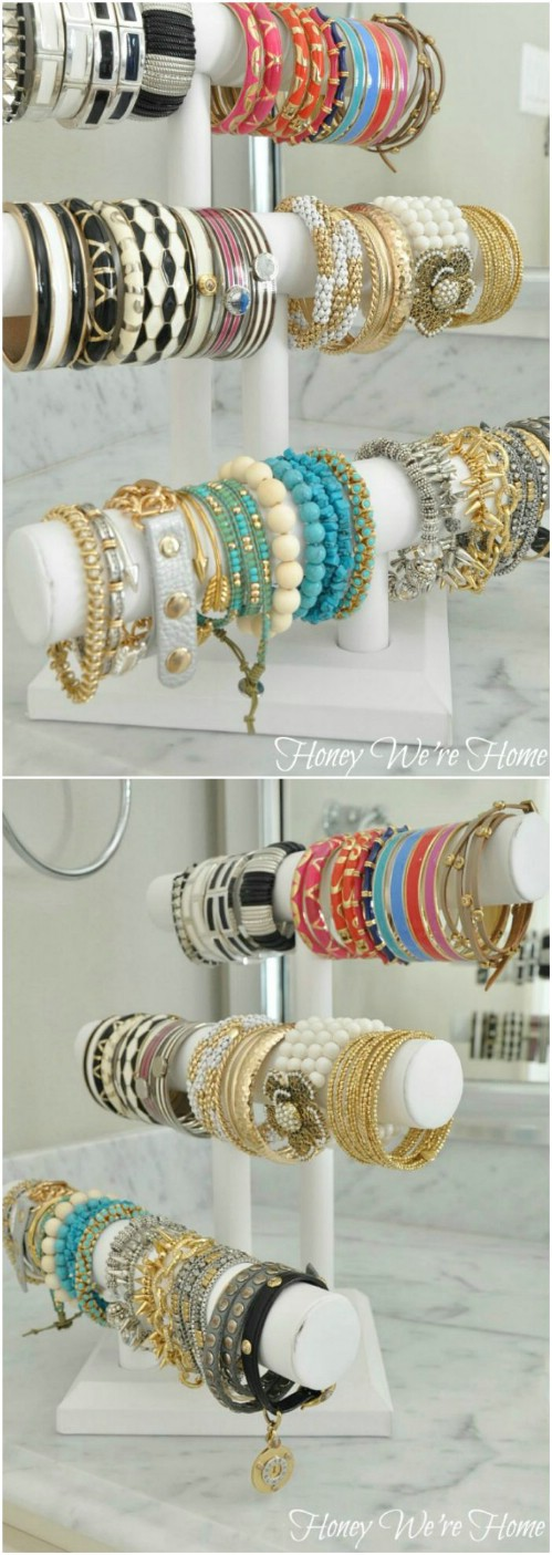 Bracelet Rack -   How use pvc pipe for home and garden