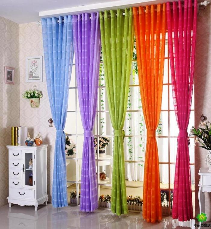 Sheer Curtain Designs Ideas