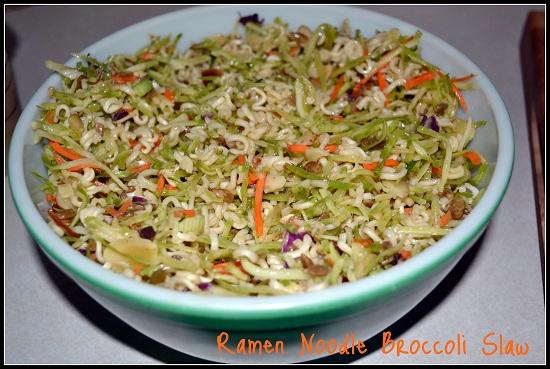 Ramen Noodle Slaw