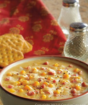 Crockpot Corn Chowder 4 potatoes (peeled and diced) 1 Can of cream corn 1 Can of