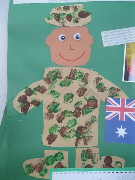 ANZAC/memorial/veterans day craft