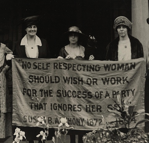 """No Self Respecting Woman Should Wish or Work for the Success of a Party That Ig"