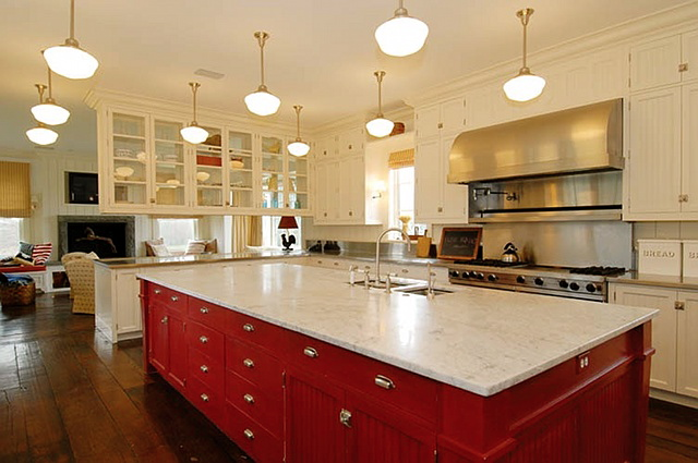 red kitchen islands kitchen island we how to do it 1780