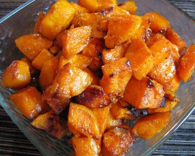 Roasted sweet potatoe